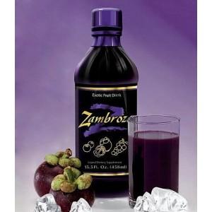 ZAMBROZA (Zambroza) - owocowy napój o silnym działaniu przeciwutleniającym i odżywczym