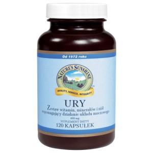 URY (Ury) - wspomaga działanie nerek oraz układu moczowego