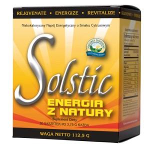 SOLSTIC ENERGIA Z NATURY (Solstic Energy) - naturalny napój energetyczny, smaczny i zdrowy